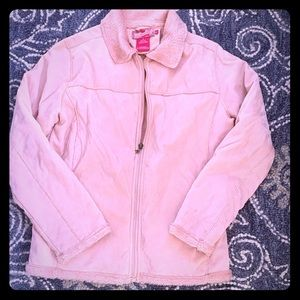Pink fleece lined jacket